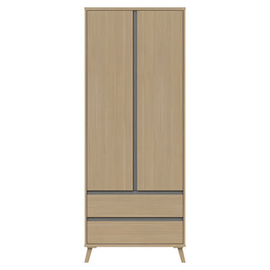 Teddington Double 2 Drawer Wardrobe