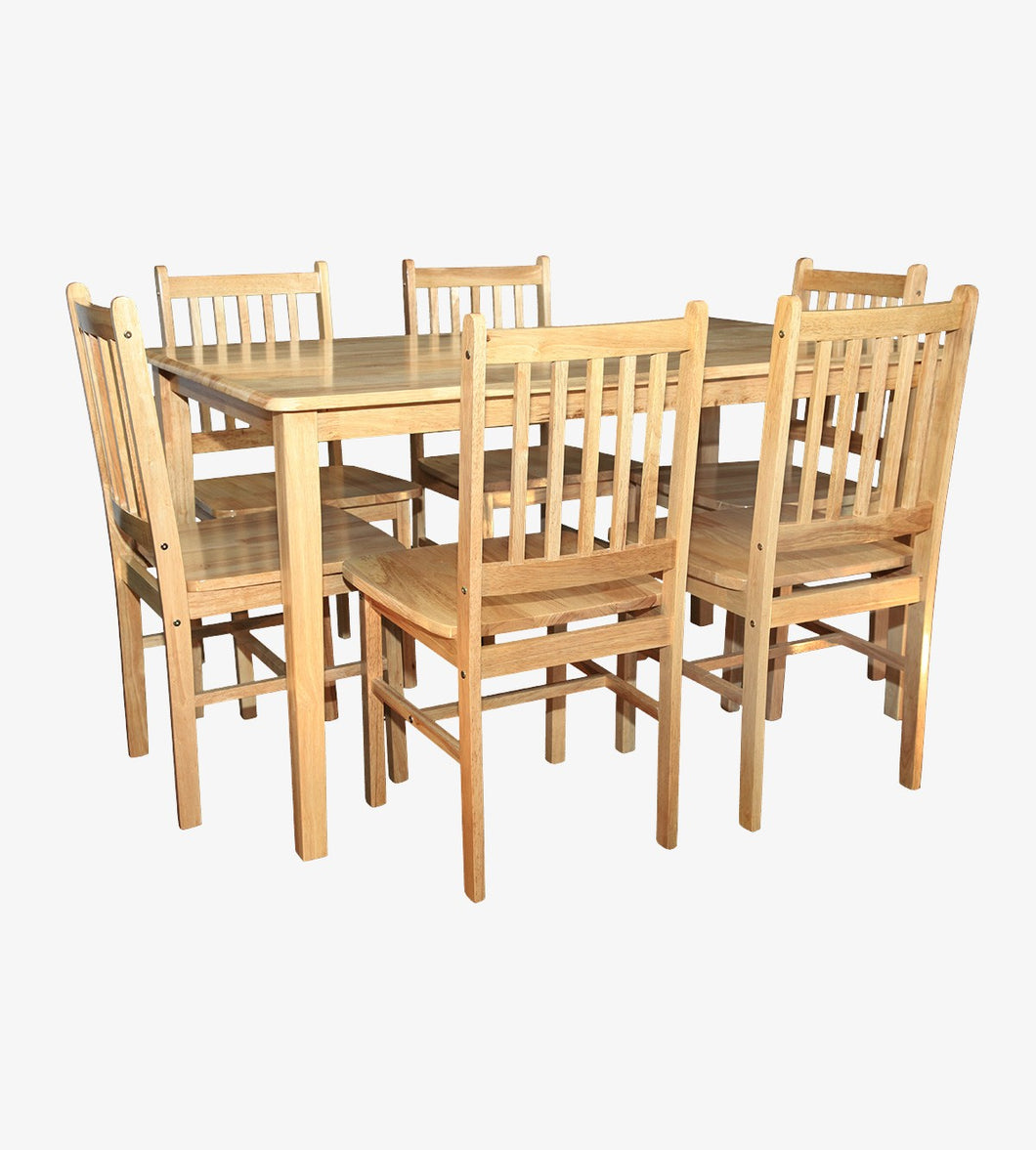 York Dining Set (6 Chairs)