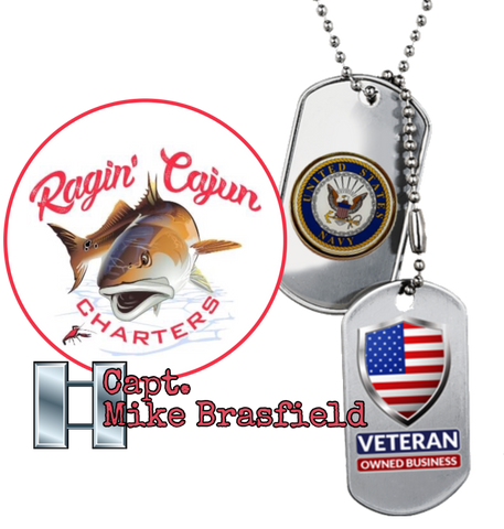 Ragin' Cajun Fishing Charters with Captain Mike Brasfield a Veteran owned business