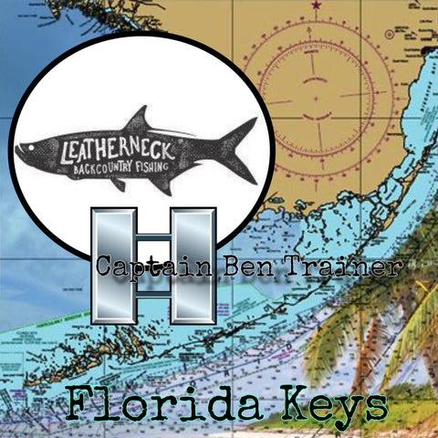 Leatherneck Backcountry Fishing Charters with Captain Ben Trainer a Veteran owned business