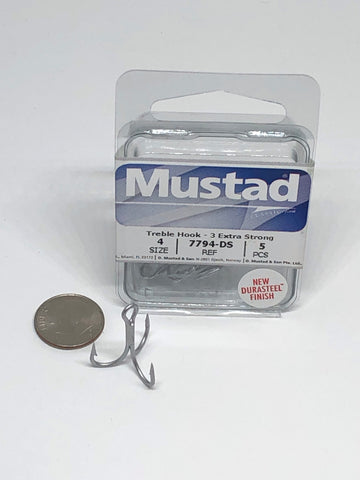 Mustad® TREBLE HOOK - 3X STRONG