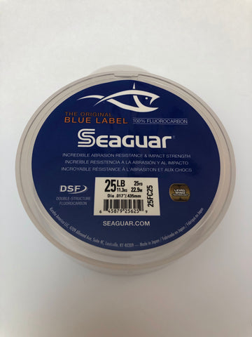 Seaguar Blue Label 25LB 100% Fluorocarbon