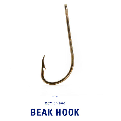 Mustad® Bait Fish Beak Hook 10 Pack