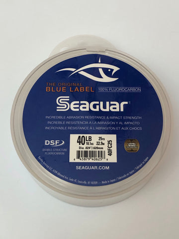 Seaguar Blue Label 40LB 100% Fluorocarbon Leader