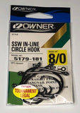 Owner® 5179 SSW In-line circle 5 pack
