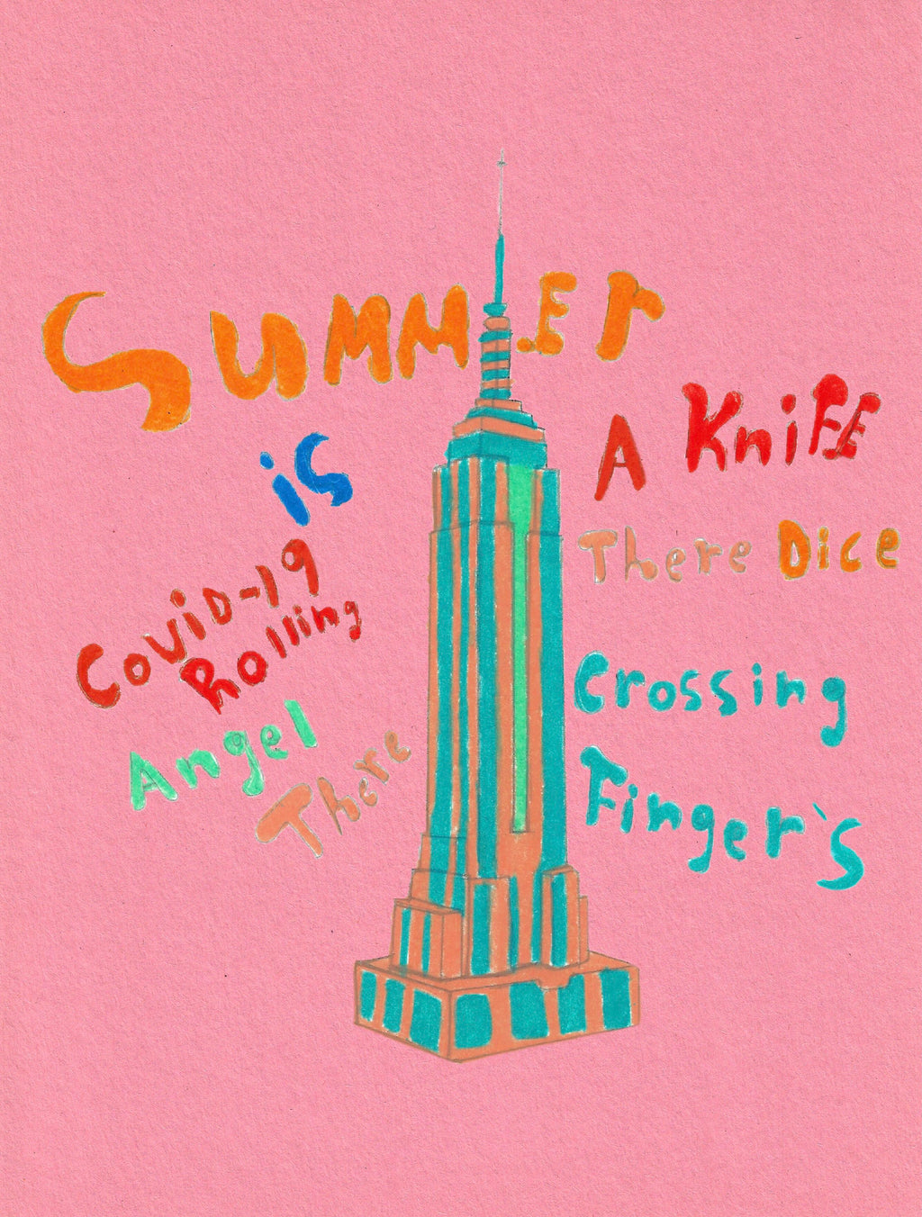Summer is a knife