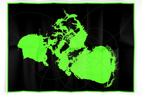 MAP PROJECTION VI - STEREOGRAPHIC (NORTH AMERICA SURROUNDS)