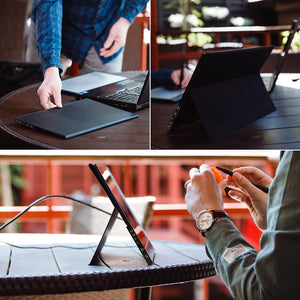 Desklab Foldable Magnetic Stand + Cover - Desklab Monitor