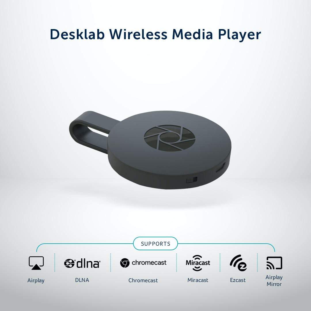 Desklab Wireless Media Player - Desklab Monitor