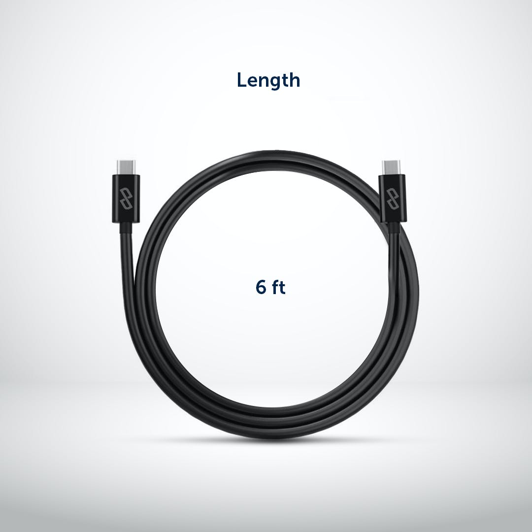 USB C to USB C 3.1 Gen 2 Fast-Charging Cable