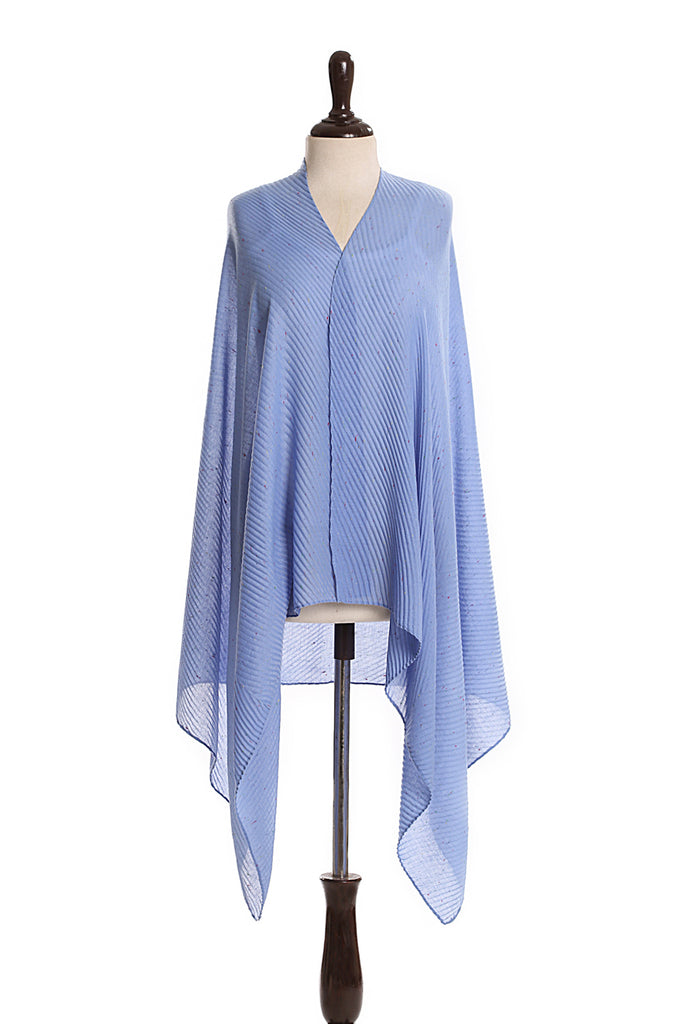 Summer Scarf TH027-royal blue-S20 - Nishat Linen UAE