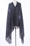 Summer Scarf TH064-black-S20 - Nishat Linen UAE