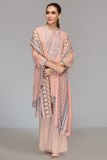42003498- Printed Embroidered Linen 3PC