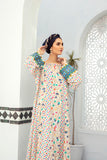 DE21-02-Mix & Match Paneled Flared Embroidered Stitched Jalabiya-1PC