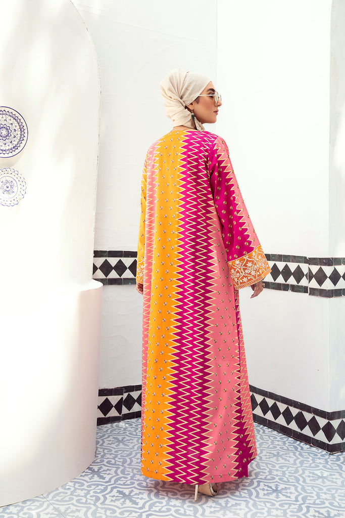 DE21-06-Regular Silhouette Stitched Jalabiya-1PC