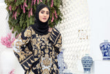 DS20-60 Printed Stitched Jalabiya – 1PC - Nishat Linen UAE
