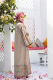 DS20-62 Printed Stitched Jalabiya – 1PC - Nishat Linen UAE