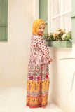DS21-08 Digital Lawn Stitched Jalabiya  – 1PC