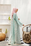 DS21-116  Digital Lawn Stitched Jalabiya – 1PC