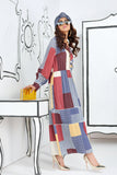FS20-14 Digital Printed Modal Fusion Dress - 1PC - Nishat Linen UAE