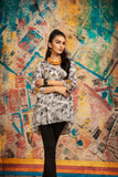 FS20-51 Printed Embroidered Fusion Top - 1PC