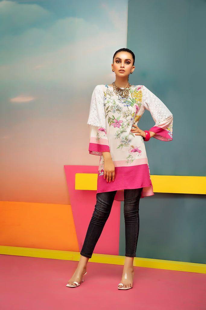 FS20-54 Digital Printed Fusion Top - 1PC