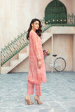 PDS21-11-Embroidered Printed Stitched Lawn Shirt & Trouser  - 2PC