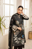 PDS21-24- Embroidered Printed Stitched Lawn Shirt, Trouser & Dupatta with Mask - 3PC
