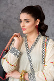 PE20-51-Embroidered Stitched Super Fine Lawn Shirt - 1PC