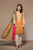 PS20-20 Printed Stitched Shirt & Voil Dupatta - 2PC