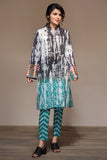 PS20-21 Printed Embroidered Stitched Shirt & Printed Trouser - 2PC - Nishat Linen UAE