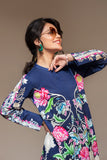 PS20-25 Printed Embroidered Stitched Shirt - 1PC - Nishat Linen UAE
