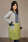 PS20-85 Printed Stitched Shirt - 1PC - Nishat Linen UAE