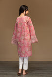 PW19-109 Pink Printed Embroidered Stitched Karandi Shirt - 1PC - Nishat Linen UAE