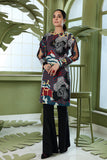 PW20-149 Printed Stitched Karandi Shirt With Mask-1PC