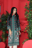 PW20-46 Digital Printed Stitched Khaddar Shirt with Mask -1PC
