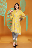 PW20-84 Printed Stitched Cotton Karandi Shirt & Trouser-2PC