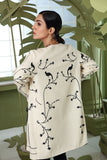PW20-87 Printed Stitched Khaddar Jacket - 1PC