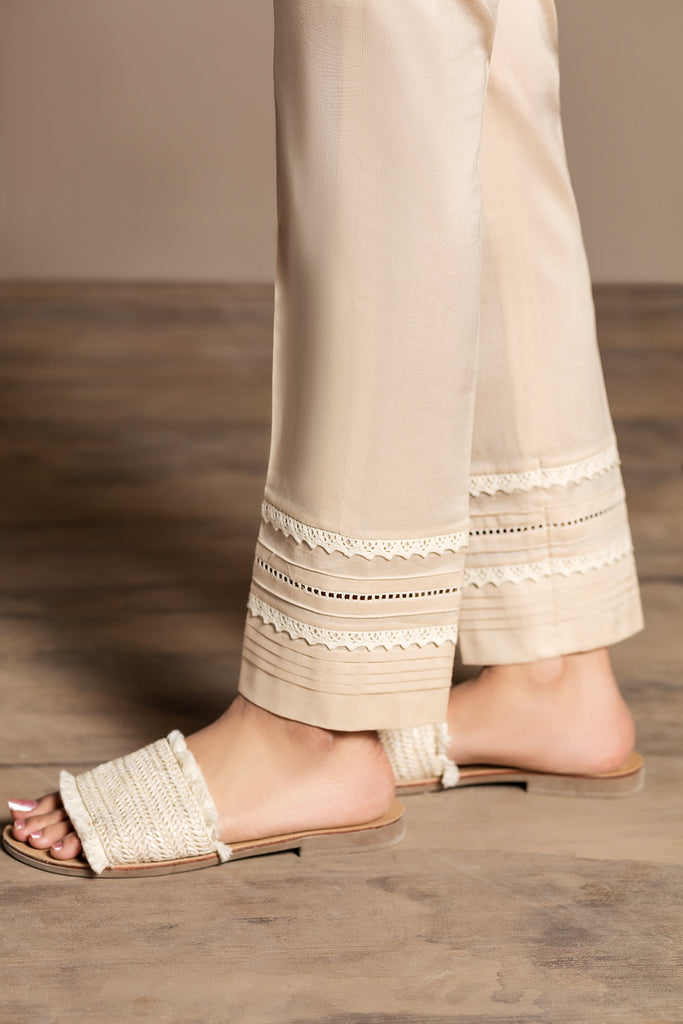 PS20- 16 Dyed Stitched Cambric Trouser - Nishat Linen UAE