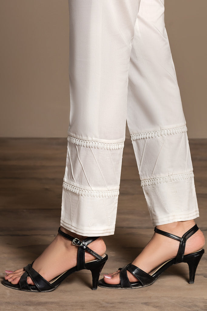 PS20-35 Dyed Stitched Cambric Trouser - Nishat Linen UAE