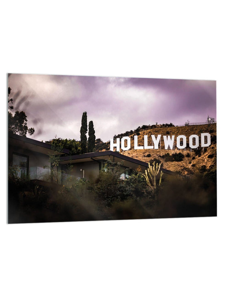 """LA Vibes"" - Glass Print - HYLUS Acrylic Glass Art - Skateboards, Surfboards & Glass Prints Wall Decor for your Home."