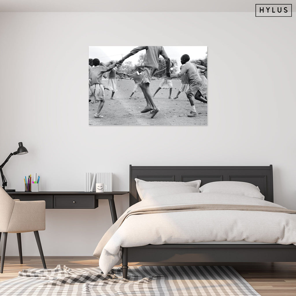 """Dancing"" - Glass Print - HYLUS Acrylic Glass Art - Skateboards, Surfboards & Glass Prints Wall Decor for your Home."