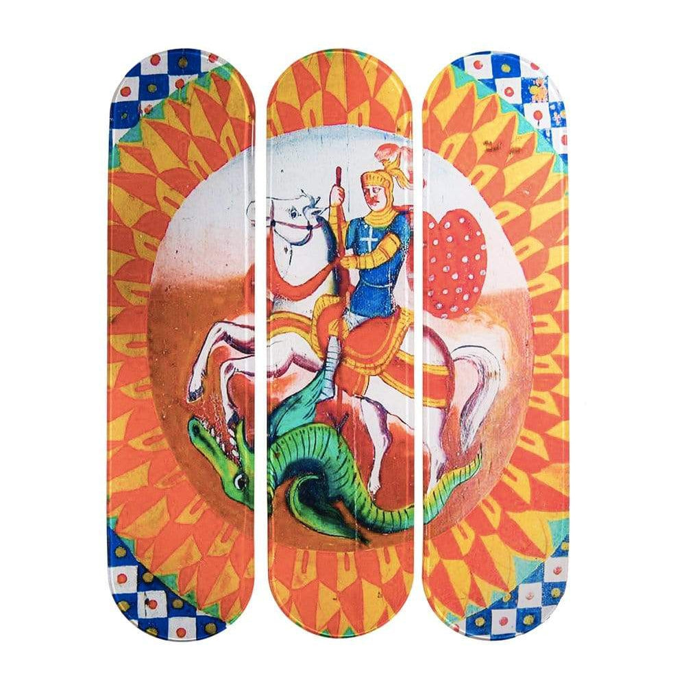 """Ischia"" - Skateboard - HYLUS Acrylic Glass Art - Skateboards, Surfboards & Glass Prints Wall Decor for your Home."