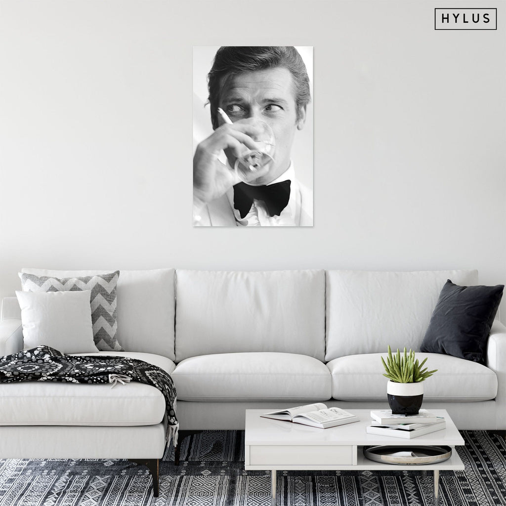 """The Man"" - Glass Print - HYLUS Acrylic Glass Art - Skateboards, Surfboards & Glass Prints Wall Decor for your Home."