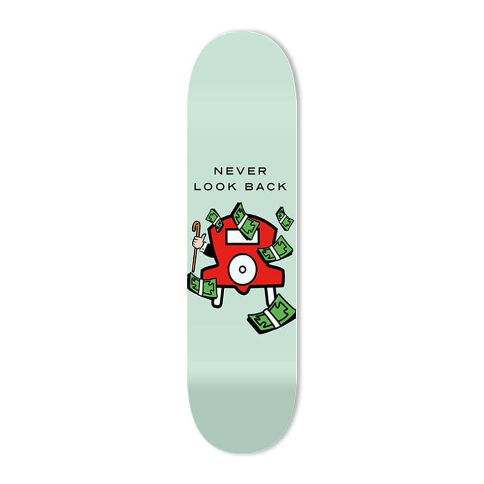 """Never Look Back"" - Skateboard - HYLUS Acrylic Glass Art - Skateboards, Surfboards & Glass Prints Wall Decor for your Home."