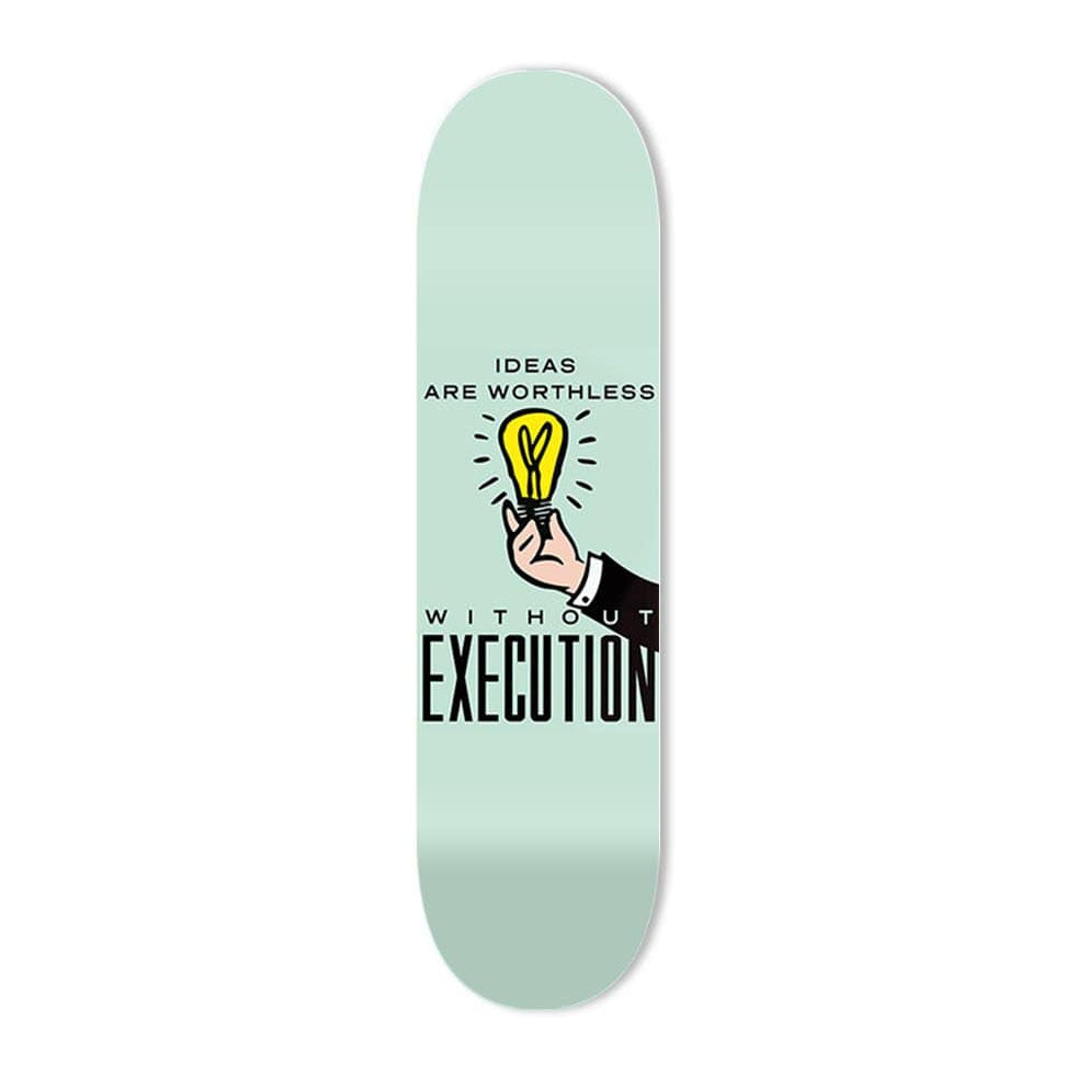 """Execution"" - Skateboard - HYLUS Acrylic Glass Art - Skateboards, Surfboards & Glass Prints Wall Decor for your Home."