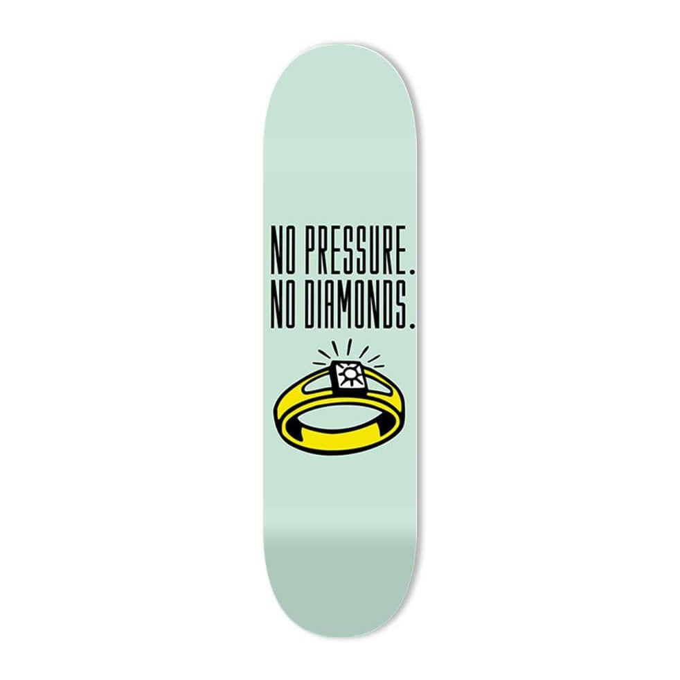 """No Pressure"" - Skateboard - HYLUS Acrylic Glass Art - Skateboards, Surfboards & Glass Prints Wall Decor for your Home."