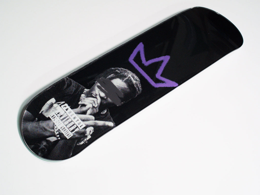 """A$AP"" - Skateboard - HYLUS Acrylic Glass Art - Skateboards, Surfboards & Glass Prints Wall Decor for your Home."