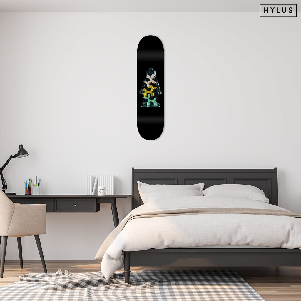 "HYLUS X Alepiano Art - ""Balloons"" - Skateboard - HYLUS Acrylic Glass Art - Skateboards, Surfboards & Glass Prints Wall Decor for your Home."