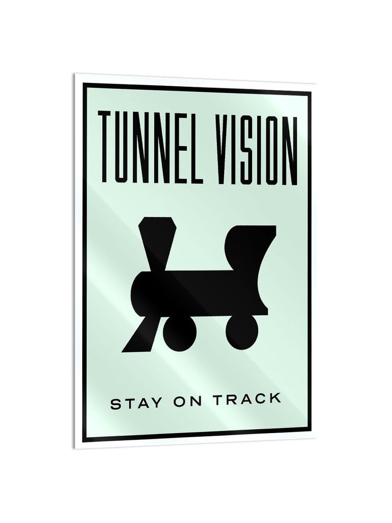 """Tunnel Vision"" - Glass Print - HYLUS Acrylic Glass Art - Skateboards, Surfboards & Glass Prints Wall Decor for your Home."
